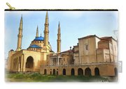 Do-00362al Amin Mosque And St George Maronite Cathedral Carry-all Pouch