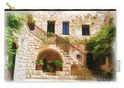 Do-00374 Old Building In Deir El-kamar Carry-all Pouch