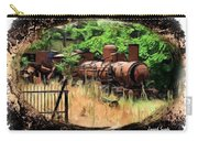 Do-00411 Old Train In Ryak Carry-all Pouch
