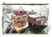 Do-00475 Old Boats Carry-all Pouch