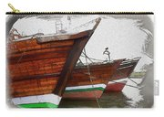 Do-00476 Abra Dhow Boats Carry-all Pouch