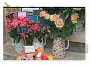 Do Not Touch The Floral Display Carry-all Pouch