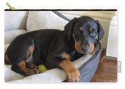 Doberman Puppy Carry-all Pouch