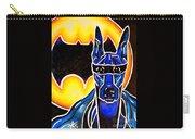Dog Superhero Bat Carry-all Pouch
