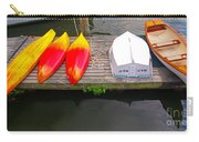 Dock And Boats Carry-all Pouch