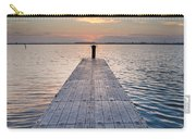 Dock On Arcata Bay At Twilight Carry-all Pouch