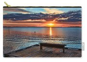 Dockside Sunset By H H Photography Of Florida Carry-all Pouch