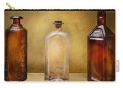 Doctor - Bitters  Carry-all Pouch by Mike Savad