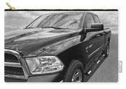 Dodge Ram 5.7 Hemi Black And White Carry-all Pouch