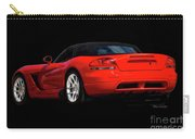 Dodge Viper 'red Tail' Roadster Carry-all Pouch