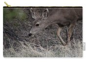 Doe Carefully Grazing In Tombstone Carry-all Pouch