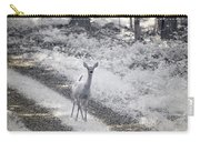 Doe In Infrared Carry-all Pouch by Brian Hale