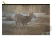 Doe In The Snow Carry-all Pouch