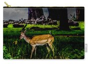 Doe - Oil Painting Print Carry-all Pouch