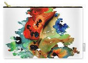 Dog Art - Contemplation 2 - By Sharon Cummings  Carry-all Pouch