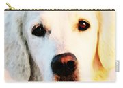 Dog Art - Golden Moments Carry-all Pouch