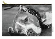 Dog At The Ring Carry-all Pouch