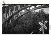 Dog Creek Bridge Railroad  Crossing Carry-all Pouch