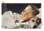 Dog Food Ad, 1956 Carry-all Pouch