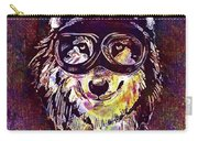 Dog Funny Cheeky Cap Animal Wild  Carry-all Pouch