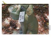 Dog Garden Statues Carry-all Pouch