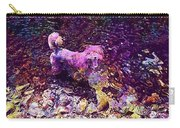 Dog Happy Nature River  Carry-all Pouch