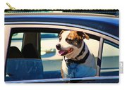 Dog In Car Carry-all Pouch