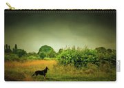 Dog In Chesire England Landscape Carry-all Pouch