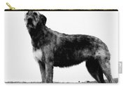 Dog: Irish Wolfhound Carry-all Pouch