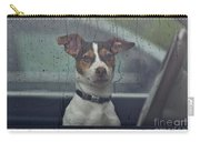 Dog Looking Out Car Window Carry-all Pouch