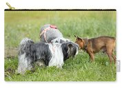 Dog Meeting  Carry-all Pouch