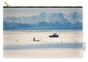 Dog Musher At Cook Inlet - Alaska Carry-all Pouch