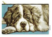 Dog -  New Pop Art Poster Carry-all Pouch