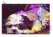 Dog Noddy Lhasa Apso Pet Puppy  Carry-all Pouch