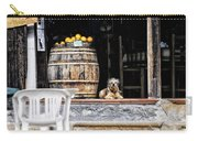 Dog Tavern With Oranges Carry-all Pouch