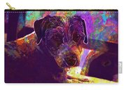 Dog Terrier Russell Pet Animal  Carry-all Pouch