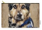 Dog Traditional Drawing Carry-all Pouch
