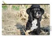 Dog With A Hat Carry-all Pouch