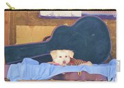 Doggy In The Guitar Case Carry-all Pouch