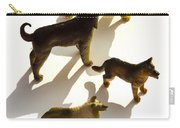 Dogs Figurines Carry-all Pouch