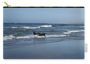 Dogs In The Surf Carry-all Pouch