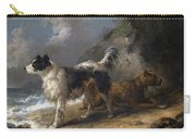 Dogs On The Coast Carry-all Pouch