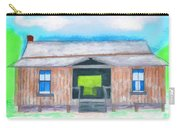 Dogtrot Cracker Home Drawing Carry-all Pouch