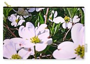 Dogwood Blossoms Pair Up Carry-all Pouch
