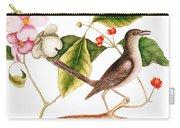 Dogwood  Cornus Florida, And Mocking Bird  Carry-all Pouch