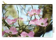 Dogwood Flowers Pink Dogwood Tree Landscape 9 Giclee Art Prints Baslee Troutman Carry-all Pouch