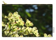 Dogwood Flowers White Dogwood Tree Flowers Art Prints Cards Baslee Troutman Carry-all Pouch