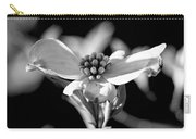 Dogwood In Black And White Carry-all Pouch