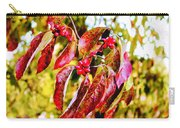 Dogwood Leaves Carry-all Pouch