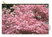 Dogwood Tree Flowers Art Prints Canvas Pink Dogwood Carry-all Pouch